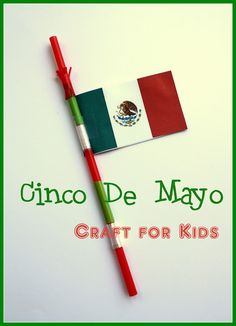 An easy craft for kids on Cinco de Mayo