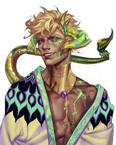 In this summer season (A portrait of my newest OC, Divyesh) Fantasy Character Design, Character Creation, Character Drawing, Character Design Inspiration, Character Concept, Dnd Characters, Fantasy Characters, High Fantasy, Fantasy Art