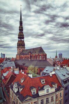 The beauty of Riga.