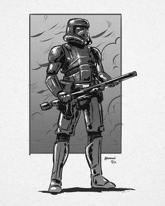 Deathtrooper - Tim Anderson