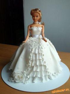 Výsledok vyhľadávania obrázkov pre dopyt torta s barbie