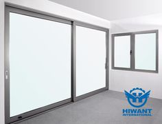 Sliding windows and doors, nature color aluminium profile frame, anodizing surface treatment.