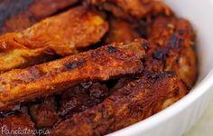 PANELATERAPIA - Blog de Culinária, Gastronomia e Receitas: Costelinha com Laranja e Mel