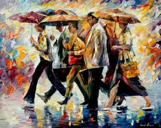 Leonid Afremov………..HIGH HO - HIGH HO -  IT'S OFF TO WORK WE GO…………ccp