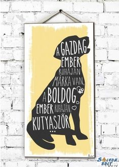 Beagle, Wall Sticker, Chalkboard, Van, Humor, Wallpaper, Words, Quotes, Handmade
