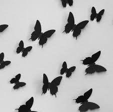 3d vlinders voor op de muur - Google zoeken