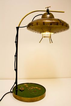 Steampunk Lamp by Tur Kort http://www.turkort.cz/