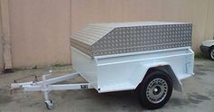 Box Trailers For Sale, Gooseneck Trailer, Motorcycle Trailer, Box Frames, Things That Bounce, Home Appliances, Gooseneck Flatbed Trailer, House Appliances, Bike Trailers