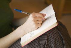 Writing in diaries