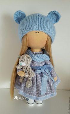 Купить Интерьерная куколка Me to you - комбинированный, кукла ручной работы…
