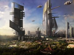 futureistic city - Google Search
