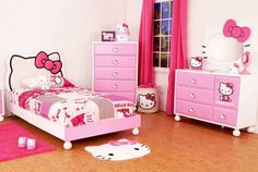 Turn Your Little Girl's Room to a Hello Kitty World! | Amazing Interior Design