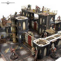 Unleash Your Underhive Architect - Warhammer Community 40k Terrain, Wargaming Terrain, Necromunda Underhive, Psychic Awakening, Necron, Underground Bunker, Model Hobbies, Game Workshop, Scenery