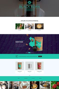 Do you want to create a WordPress landing page? The coffee landing page is a good choice to show your business in one page. This example is built with sliders and blocks with Smart Slider Take a look. Wordpress Landing Page, Sliders, Coffee Shop, Web Design, Template, Create, Business, Building, Coffee Shop Business