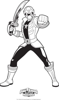 Power Rangers Team Jungle Fury Power Rangers Coloring Pages