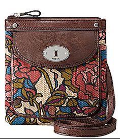 Fossil Maddox Floral Crossbody Mini Bag | Dillards.com