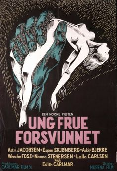 Young Lady Disappeared (Ung frue forsvunnet) (1953) Foreign Movies, Norway, Cinema, Comic Books, Comics, Watch, Film, World, Lady