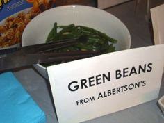 Green Beans from Albertsons