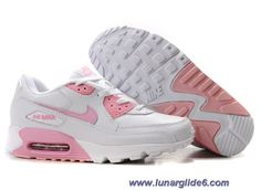 Nike Air Max 90 White Pink White Womens Shoes Outlet