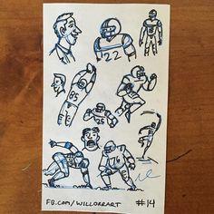 #willorr #art #14 #part2 #pensketches #cartoonist #cartoons #tuesday #sketching #drawing #handdrawnart #handdrawn #footballsketches #footballplayer #football #nfl http://ift.tt/1spd44m - http://ift.tt/1U6eqe8