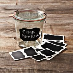 Chalkboard Labels, Set of 12
