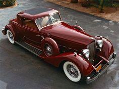 1933 Packard 12 Sport Coupe g
