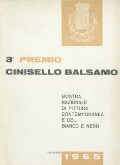 Catalogo Mostre 1965 3° premio, Cinisello Balsamo