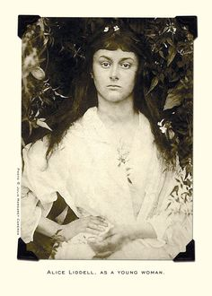 Julia Margaret Cameron, Alice- one of my pictures for my photography paper