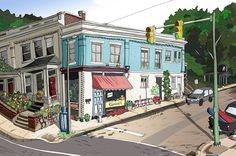 """Garnett's Cafe - """"A Great Good Place"""" - Richmond, Virginia"""