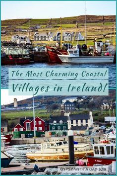 Charming coastal village scenes from an Ireland 10 day itinerary. Europe On A Budget, Europe Travel Tips, Travel Destinations, Travel List, European Travel, Travel Guide, Scotland Travel, Ireland Travel, Scotland Trip