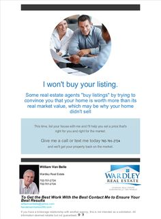 won't buy your listing