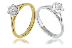 Round Brilliant Cut Solitaire - A stunning 0.70ct Round Brilliant Cut solitaire engagement ring set in 18ct White and or Yellow Gold. Available from Anthonys Fine Jewellery.