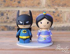 Batman + Princess Jasmine   https://www.facebook.com/genefyplayground