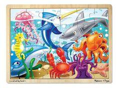 Melissa & Doug Under the Sea Jigsaw (24 pc) [Toy]