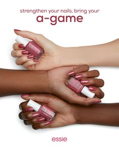 give your nails some TLC with NEW treat love & color. get your 'a-game' on with our first advanced 1-step care & color nail polish! experience stronger nails in just one week with 60% less peeling and 35% less breakage! essie treat love & color nail treat http://besthairremoving.com/