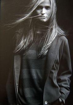Carmen Kass by PETER LINDBERGH