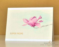 Magnolias For Her - Altenew  - 7