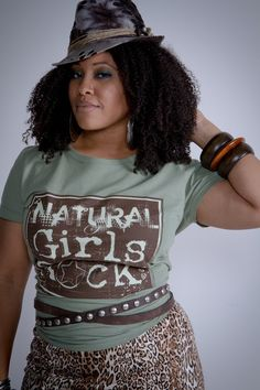 """Natural Girls Rock """"Natural Throwback"""" by Froot of the Loom   Natural Girls Rock®"""