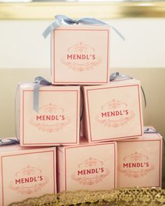 "To-Go Boxes |A ""Grand Budapest Hotel"" Bridal Shower For Guest Blogger Jenny Bernheim Of Margo And Me"