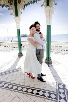 25cc12b21827 Brighton Bandstand Wedding - Weddings By Emily Charlotte