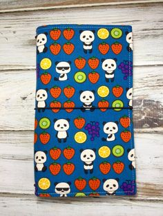 Fabric fauxdori in Fruity Panda by MellonJournal on Etsy