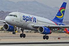N504NK Spirit Airlines 2005  Airbus A319-132 - cn 2473
