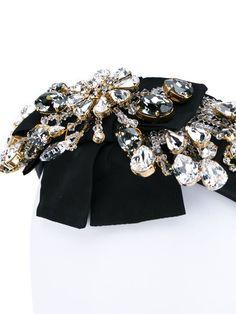 Купить Dolce & Gabbana декорированный ободок в Browns from the world's best independent boutiques at farfetch.com. 400 бутиков, 1 адрес. .