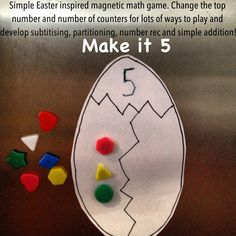 Playing and Learning Begins at Home: Make it 5! Simple Numeracy game
