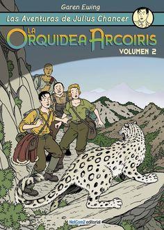 CATALONIA COMICS: JULIUS CHANCER - LA ORQUIDEA ARCO IRIS 2