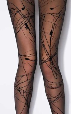 Funky Tights | Tissue Wrapped plus Free Organza Bag | Poshtights.com