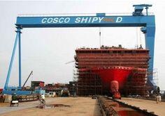 Resultado de imagem para cosco shipyard