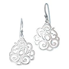 Sterling silver open work drop earrings with a beautiful scroll design. Regularly $34.99, buy Avon Jewelry online at http://eseagren.avonrepresentative.com