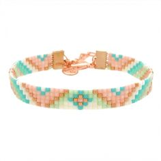 Beads-armbandje 'Pastel Dreams' - Mint15