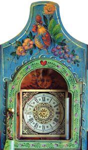 JoSonja Briar Rose French Style Clock